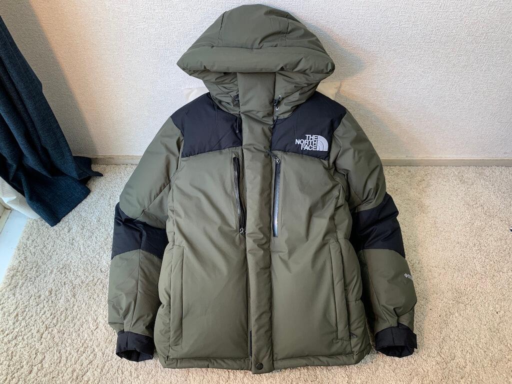 バルトロライトジャケットのサイズ感は?