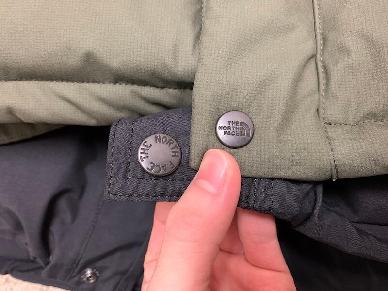 ボタンデザインの違い