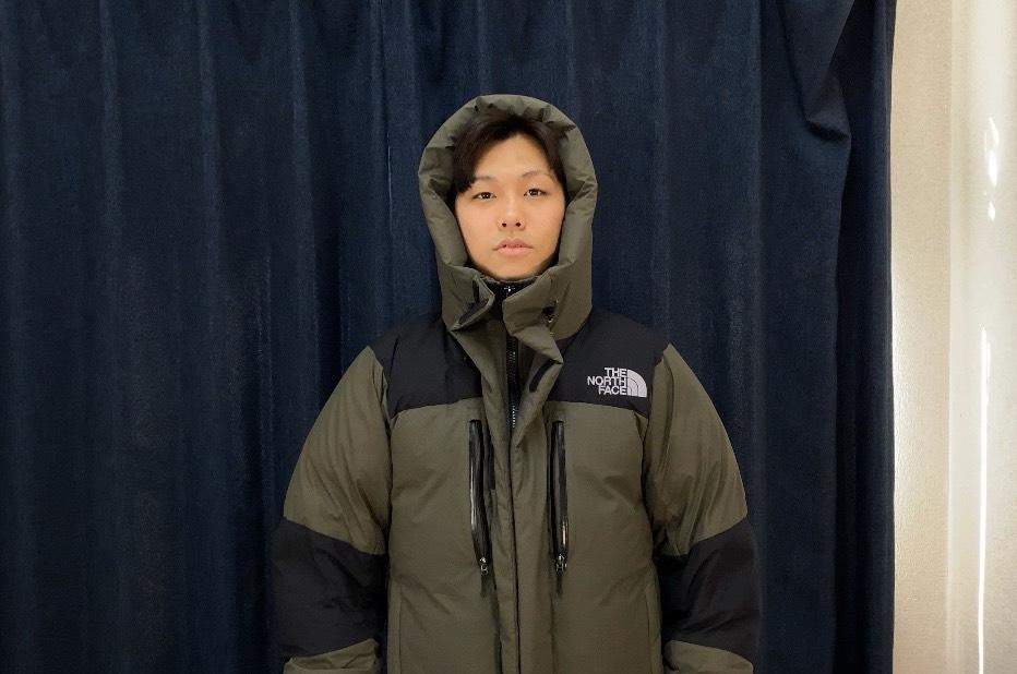 バルトロライトジャケットのLのサイズ感