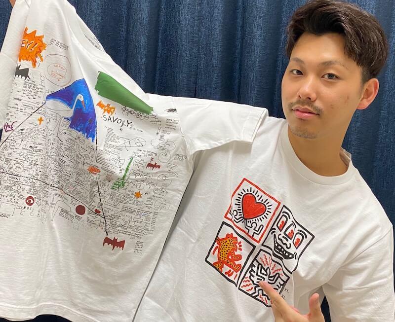 バスキア&キースヘリングが【ユニクロ】とコラボ!あの絵がTシャツに
