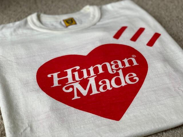 【HUMAN MADE×GirlsDon'tCry】Tシャツ詳細レビュー!XLは小さめ?