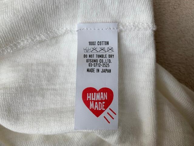 ヒューマンメイドのTシャツたぐ1