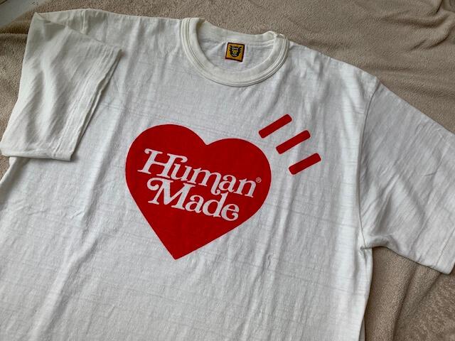ヒューマンメイドのTシャツ表
