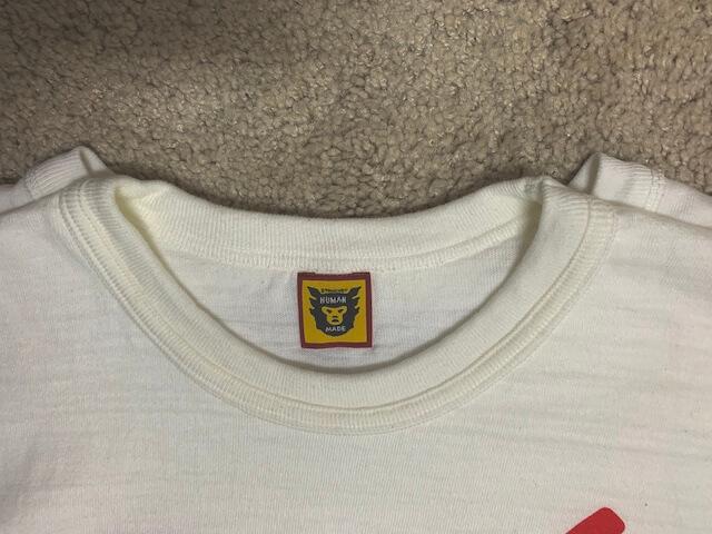 ヒューマンメイドのTシャツ比較1