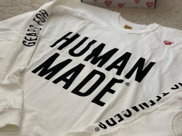 【HUMAN MADE】20SSロンTのサイズなどを詳細レビュー!