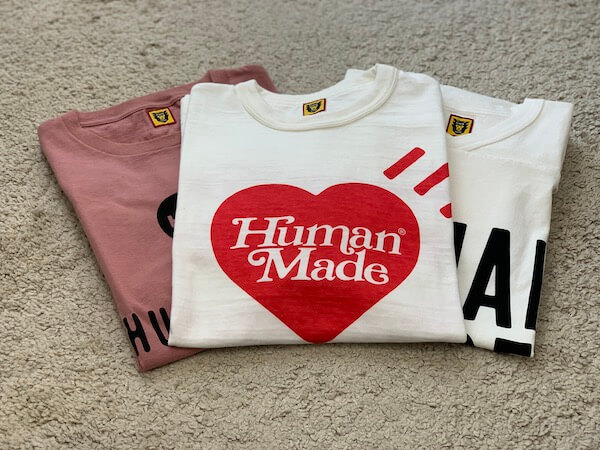 human madeのサイズ感の注意
