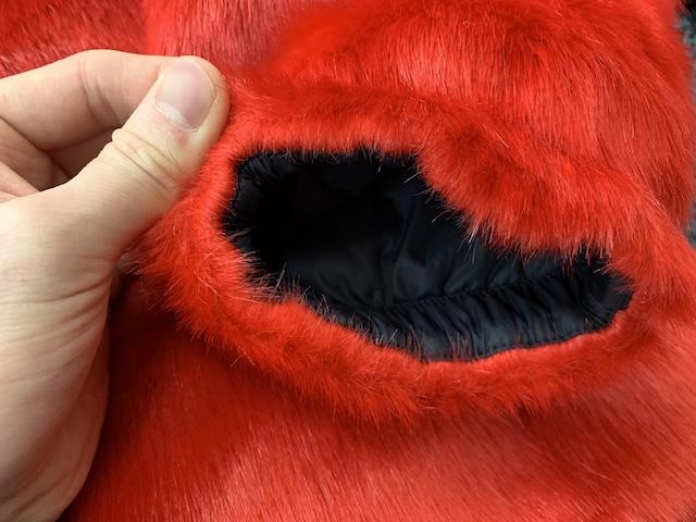 ファーヌプシ袖口